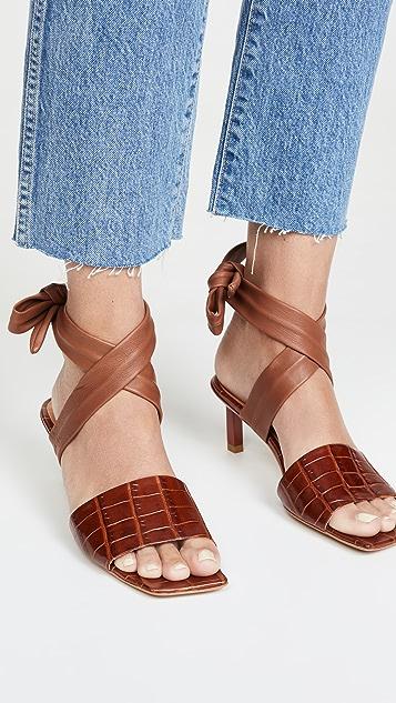 GANNI Босоножки на каблуках