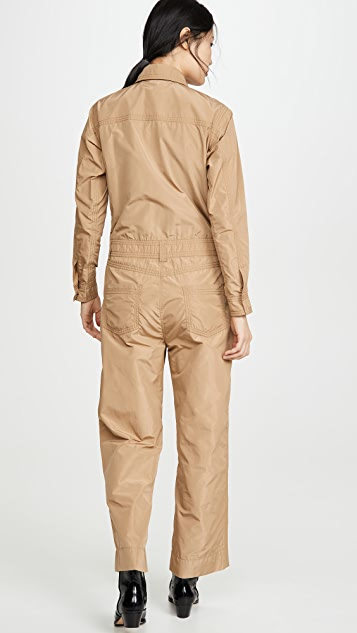 GANNI Recycled Polyester Jumpsuit