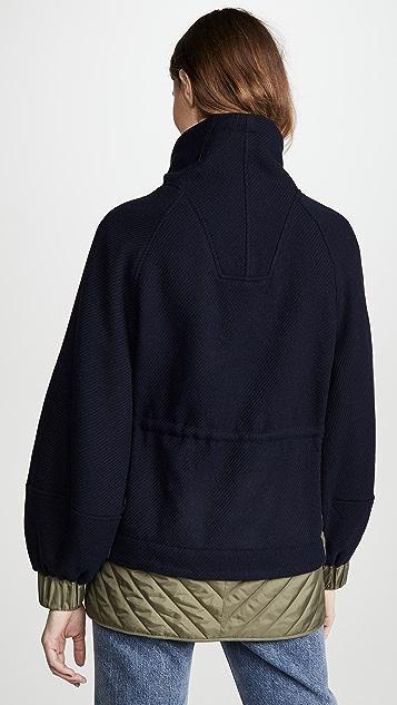 GANNI 科技感羊毛套衫