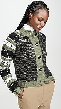 Knit Pattern Cardigan