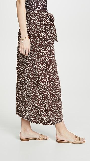 GANNI Printed Skirt