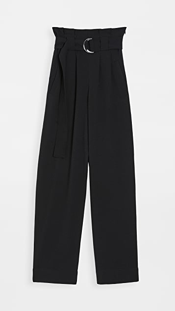 GANNI Heavy Crepe Trousers