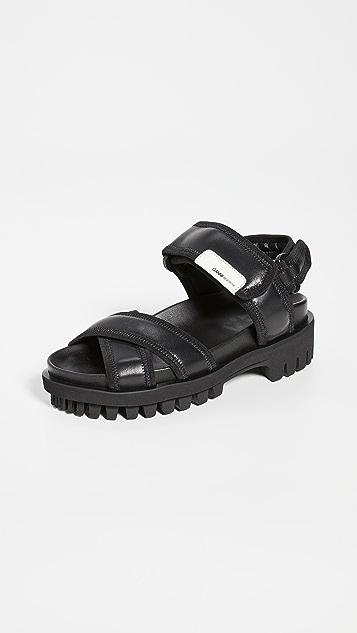 GANNI Hiking Sandals