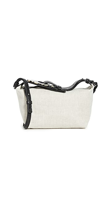 GANNI Canvas Shoulder Bag