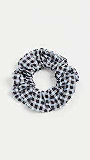 GANNI 印花绉绸发带