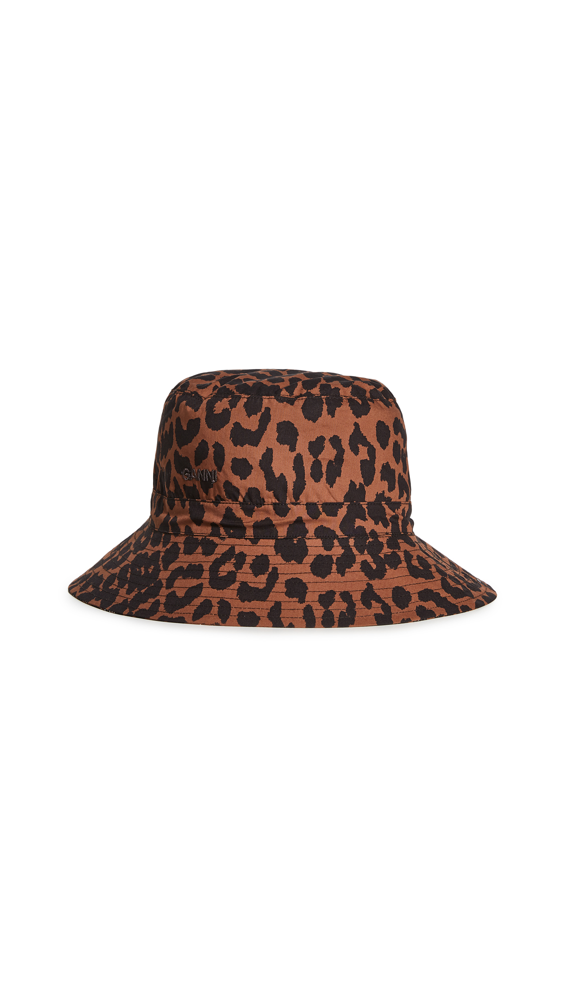 GANNI Printed Toffee Bucket Hat