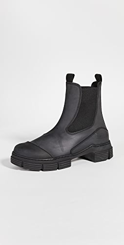 GANNI - Recycled Rubber Boots