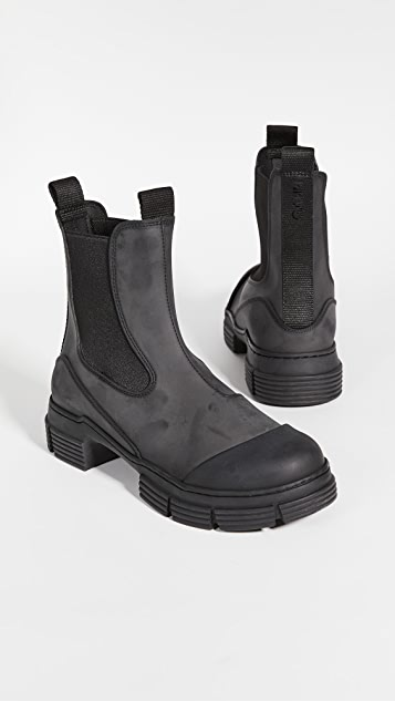 GANNI 再生橡胶靴子