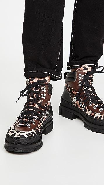 GANNI Sporty Hiking Boots
