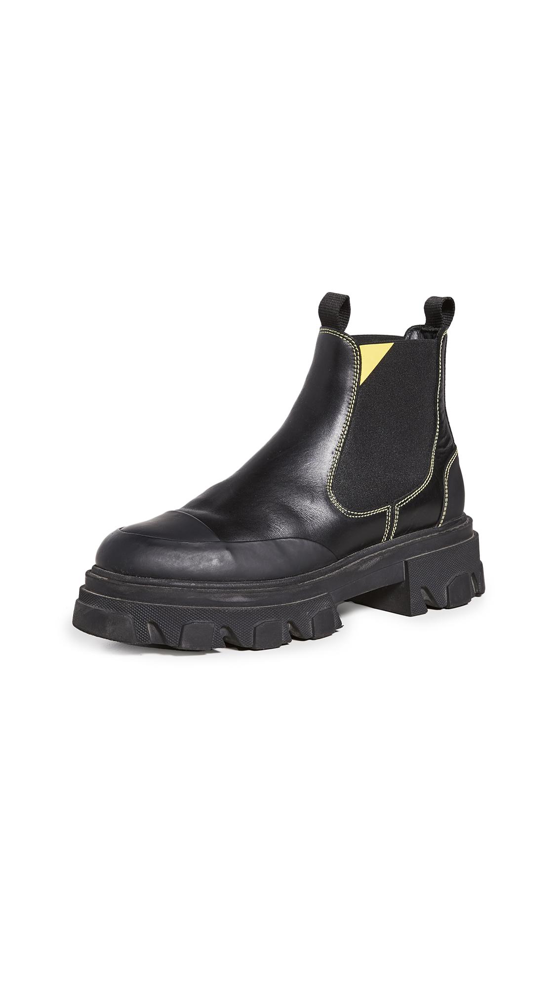 GANNI Low Chelsea Boots