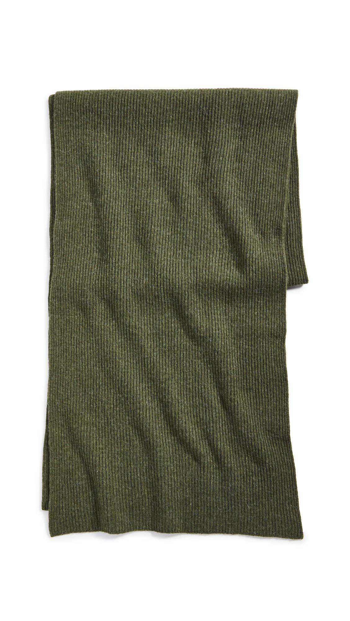 GANNI Recycled Wool Knit Scarf