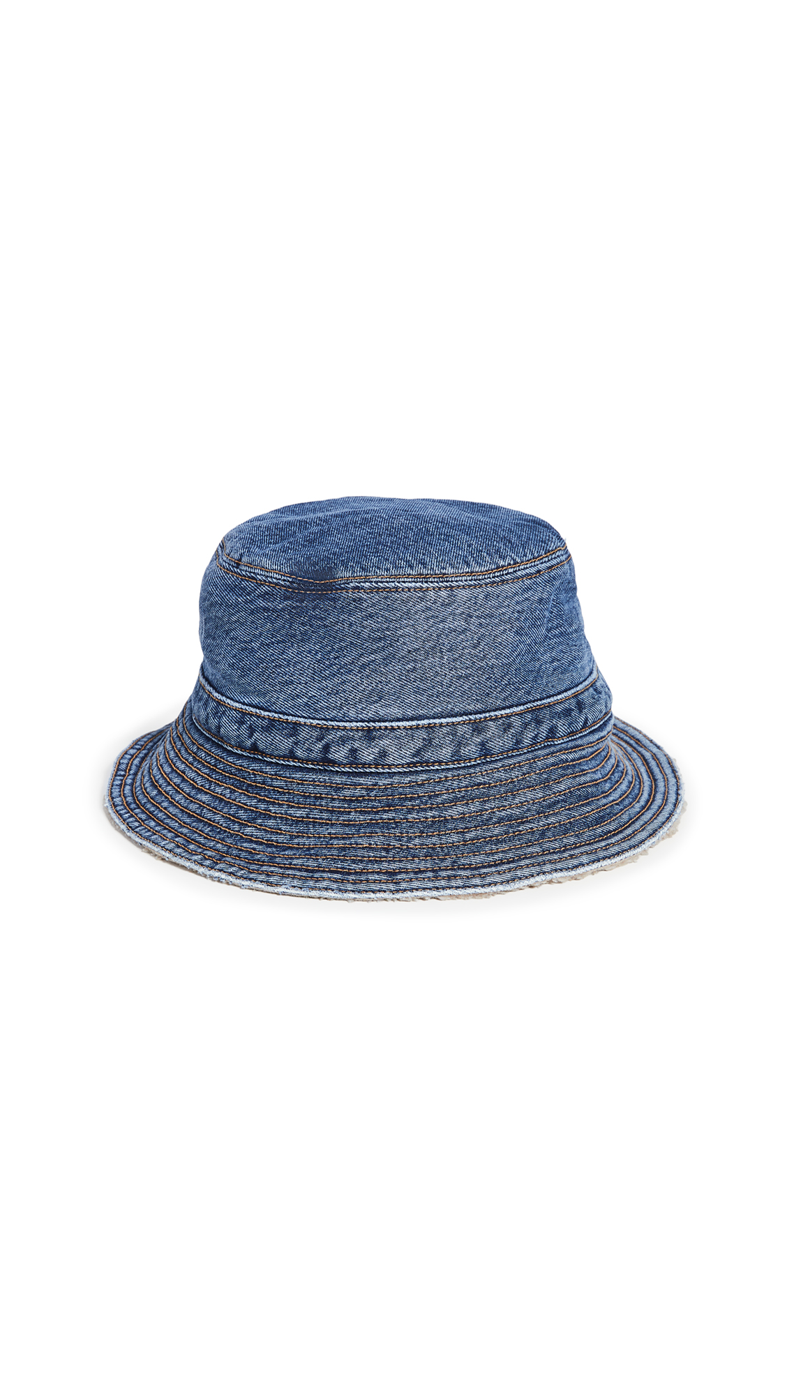 GANNI Teddy Denim Hat