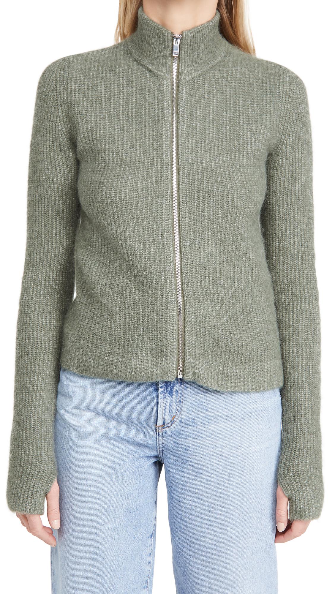GANNI Soft Wool Knit Sweater