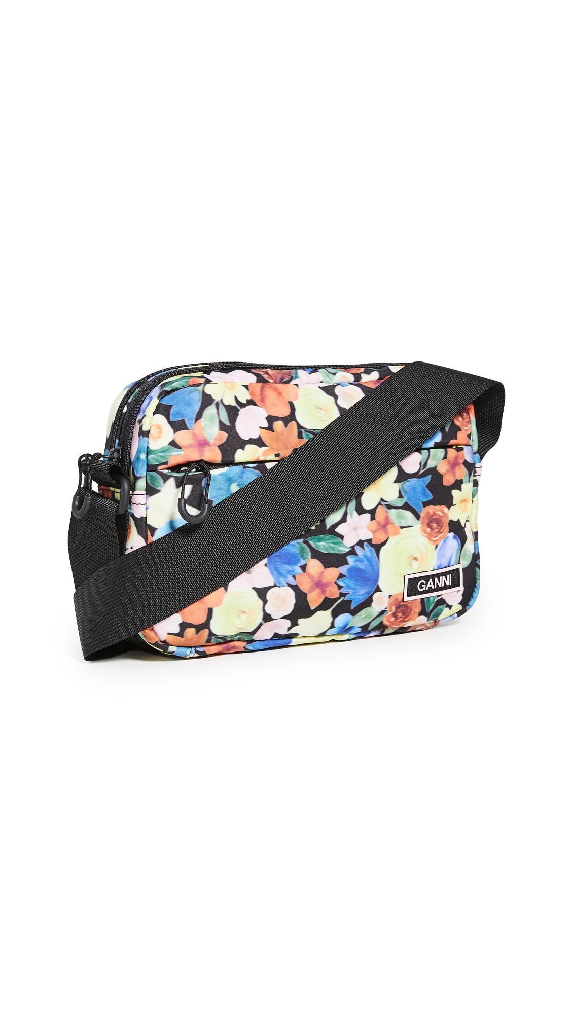 GANNI Recycled Tech Fabric Crossbody Bag