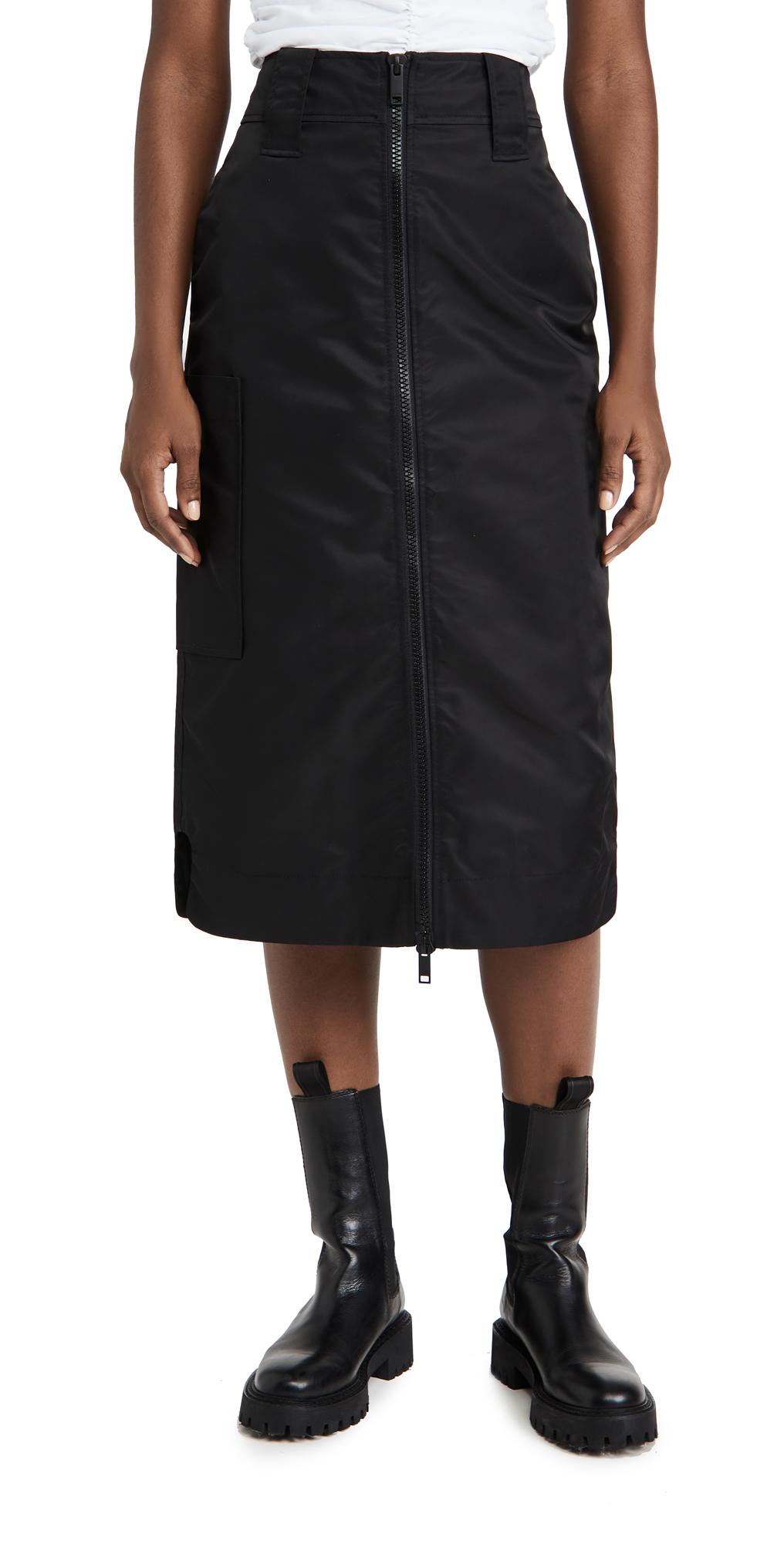 GANNI Outerwear Nylon Skirt