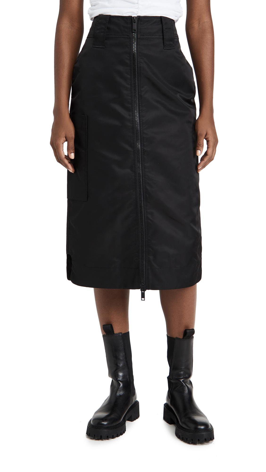 GANNI Outerwear Nylon Skirt