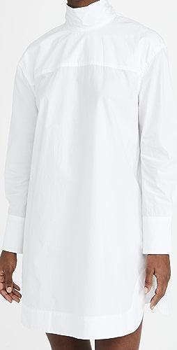 GANNI - Cotton Poplin Dress