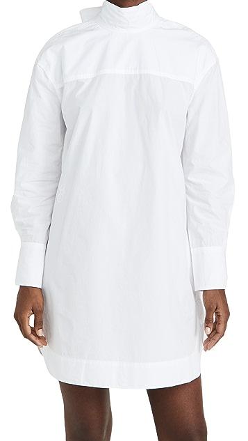 GANNI Cotton Poplin Dress