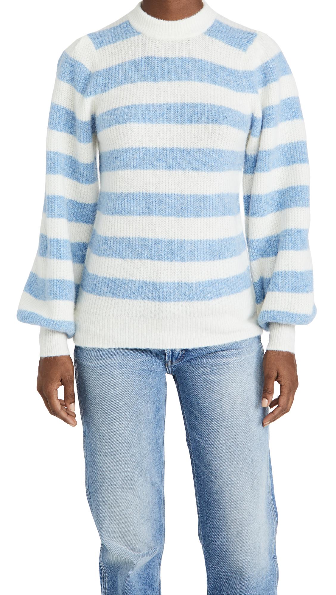 GANNI Soft Wool Knit Pullover