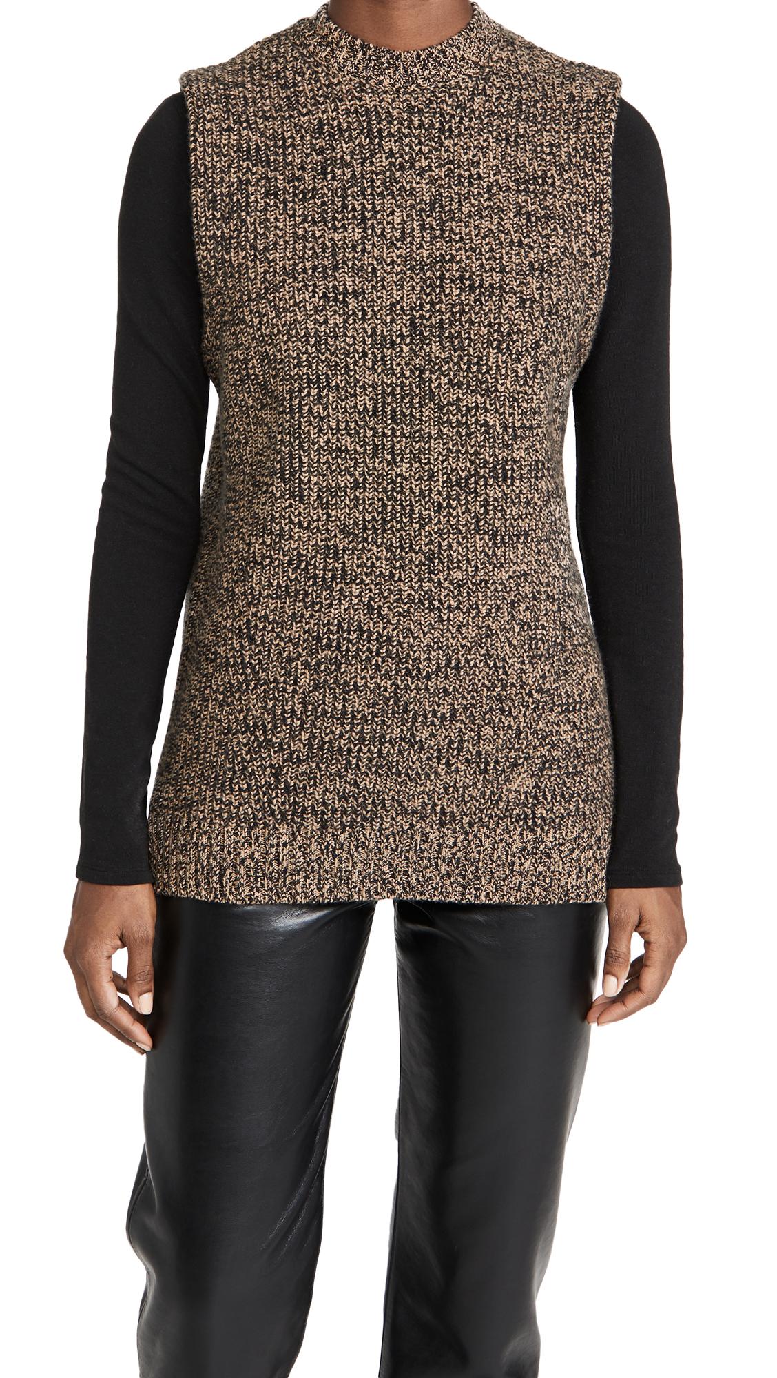GANNI Cashmere Mix Pullover Vest