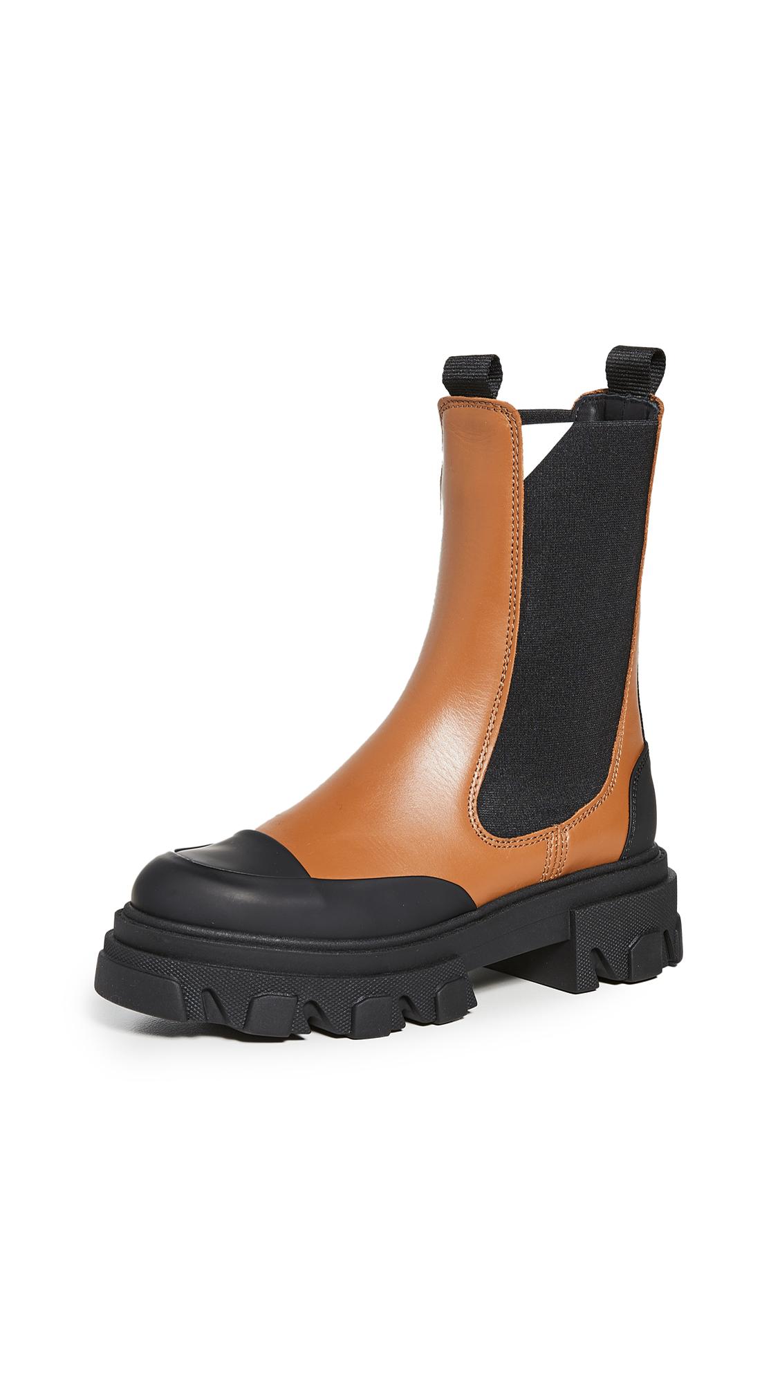 GANNI Midcalf Chelsea Boots