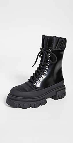 GANNI - Track Sole Combat Boots