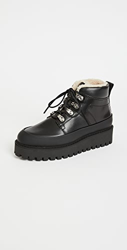 GANNI - Platform Hiker Boots
