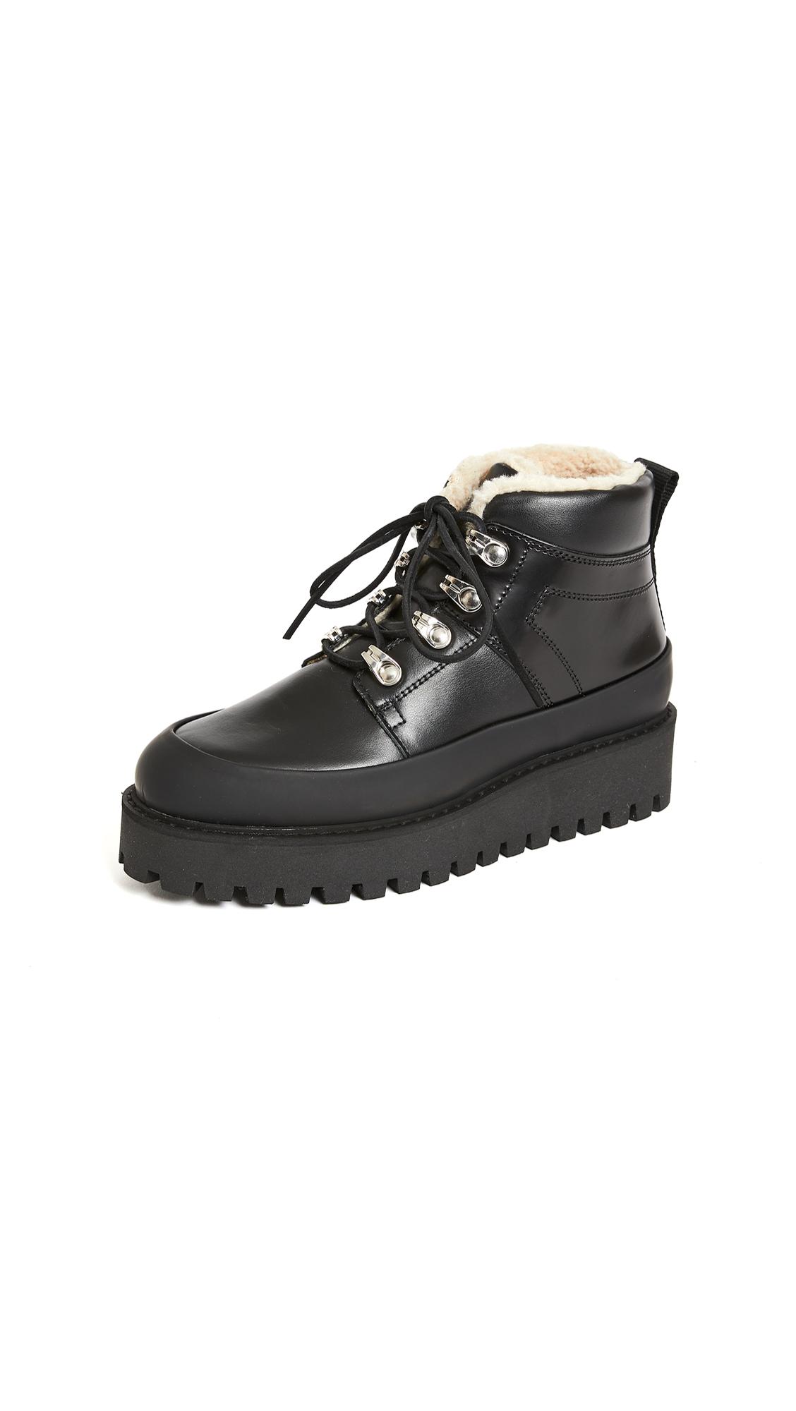 GANNI Platform Hiker Boots