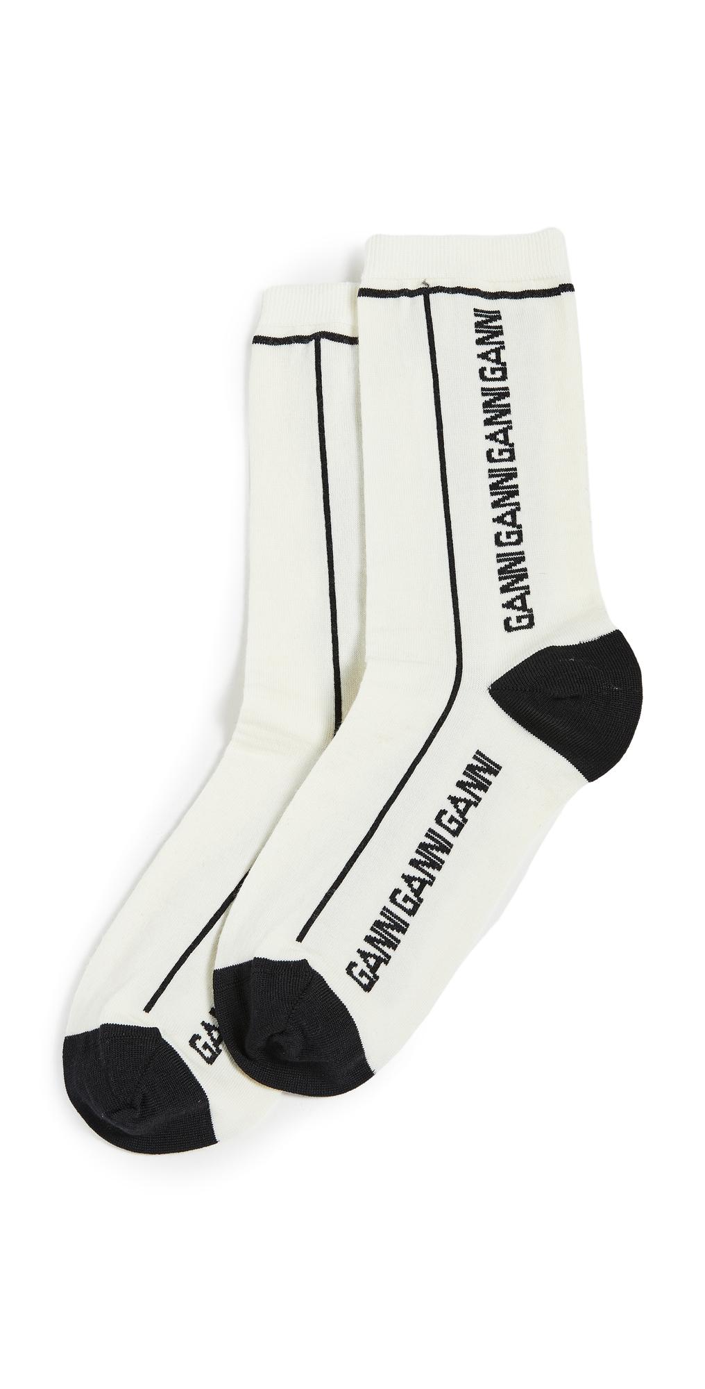 GANNI Merino Wool Socks