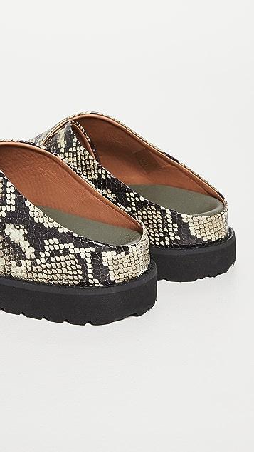GANNI Mid 交叠凉鞋