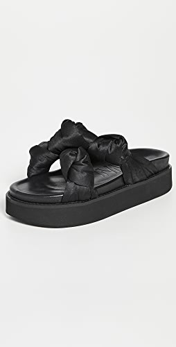 GANNI - Mid 结饰凉鞋