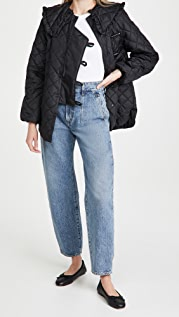 GANNI Recycled Ripstop Quilt Coat