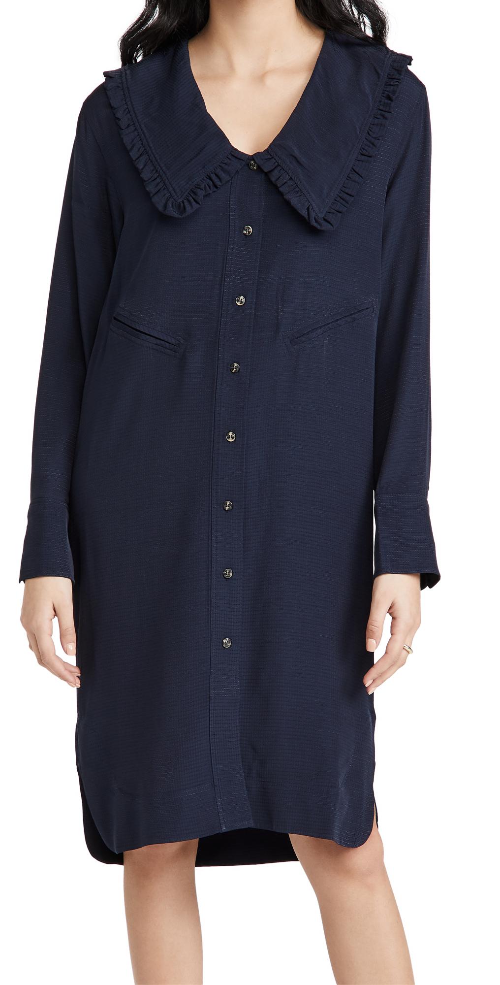 Ganni RIPSTOP ECOVERO DRESS