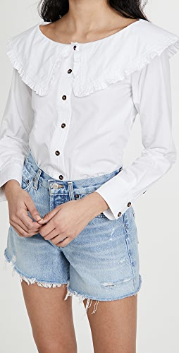 GANNI - Cotton Poplin Shirt