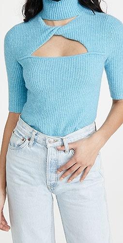 GANNI - Soft Wool Knit Sweater