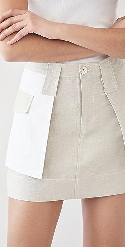 GANNI - Linen Skirt