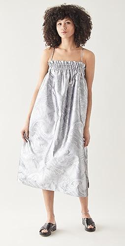 GANNI - Shiny Jacquard Dress