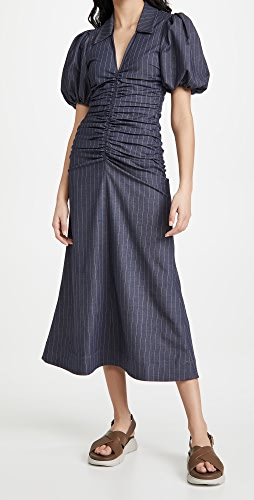 GANNI - Stretch Stripe Dress