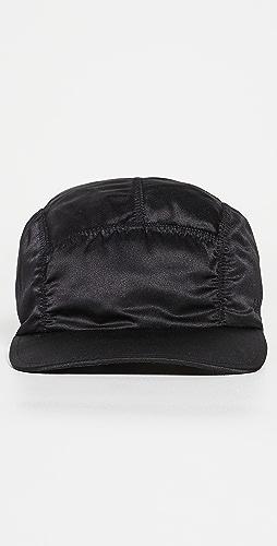 GANNI - Satin Baseball Cap
