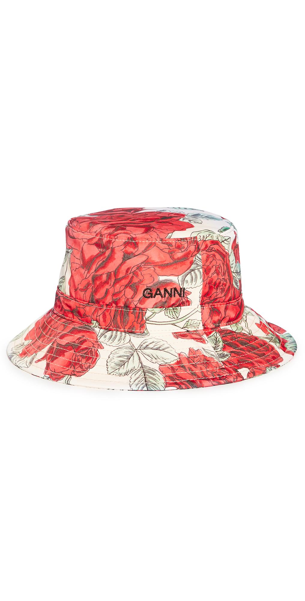 Ganni Hats SEASONAL RECYCLED TECH BUCKET HAT