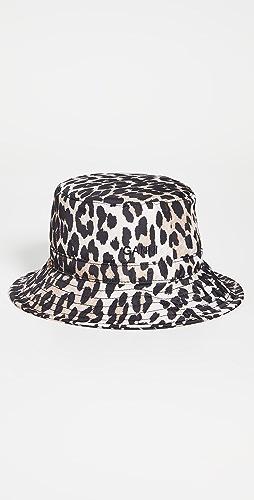 GANNI - Seasonal Recycled Tech Bucket Hat