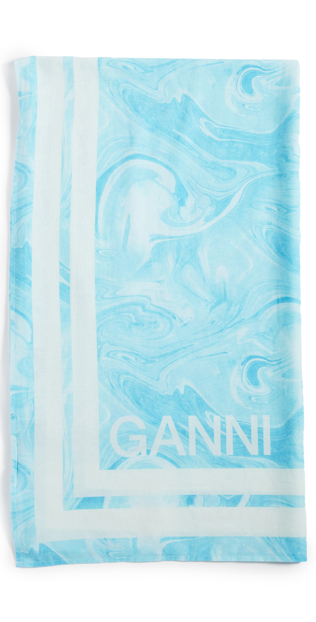 GANNI Light Cotton Scarf