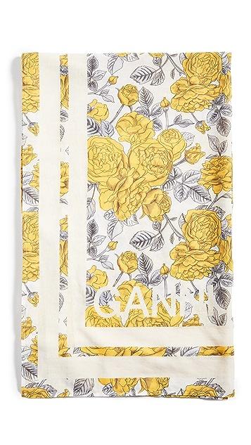 GANNI 轻质棉质围巾