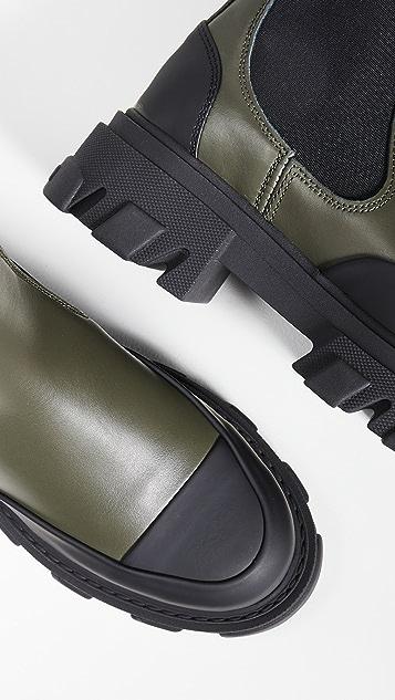 GANNI Mid Chelsea Boots