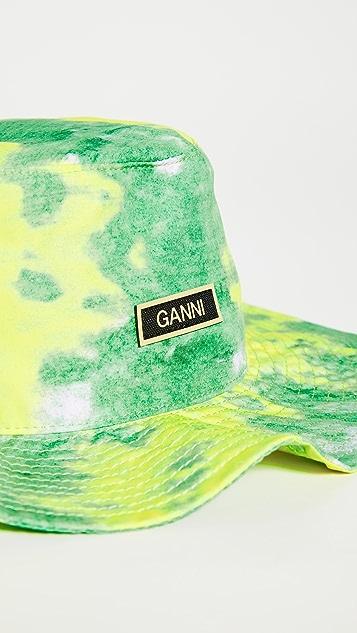 GANNI 再生高科技渔夫帽
