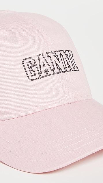 GANNI Software Heavy Cotton Hat