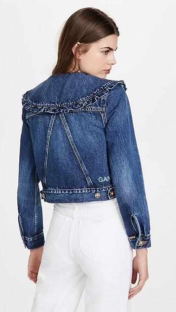GANNI Heavy Denim Jacket