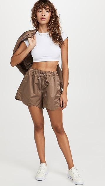 GANNI Outerwear Nylon Shorts