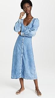 GANNI Light Denim Dress