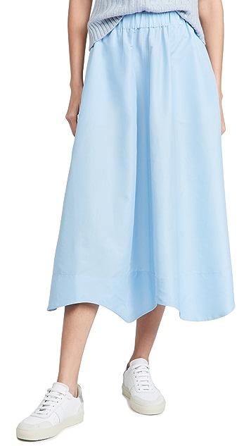 GANNI Crispy Taffeta Skirt